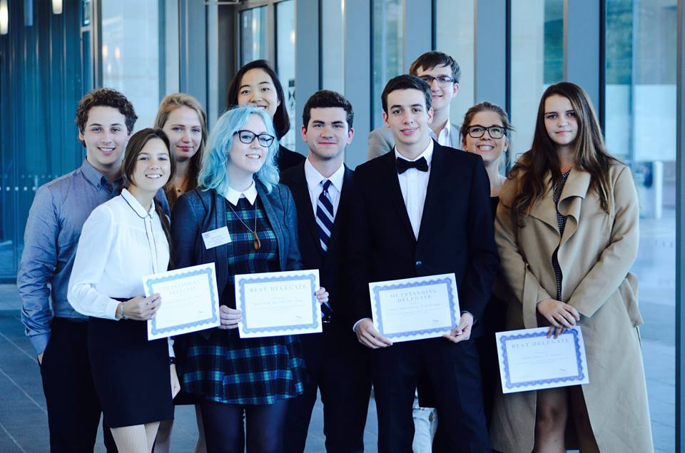UCC Society Wins Big in First Model UN of the Year