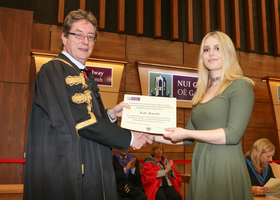 NUI Galway Honour Leaving Certificate Excellence