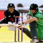 England victorious on landmark day for Irish cricket