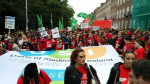 Students March For Publicly Funded Higher Education