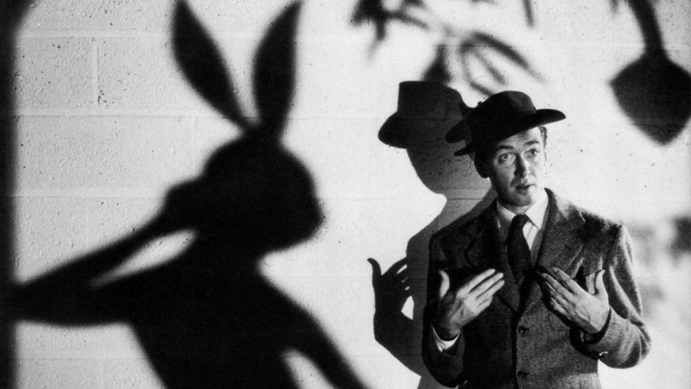 There is a 1950's film about a six foot tall imaginary rabbit and it will change your life