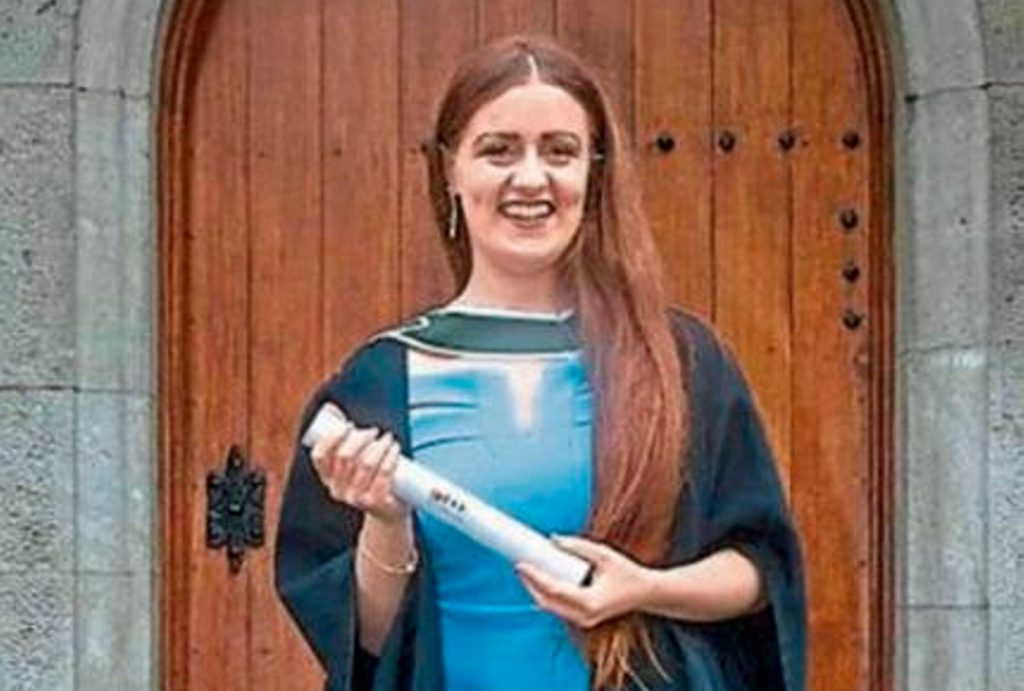 Family of missing graduate share news of her passing away