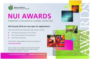 NUI Awards 2018 Open for Applications