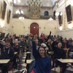 Trinity Student Protesters Locked into Dining Hall