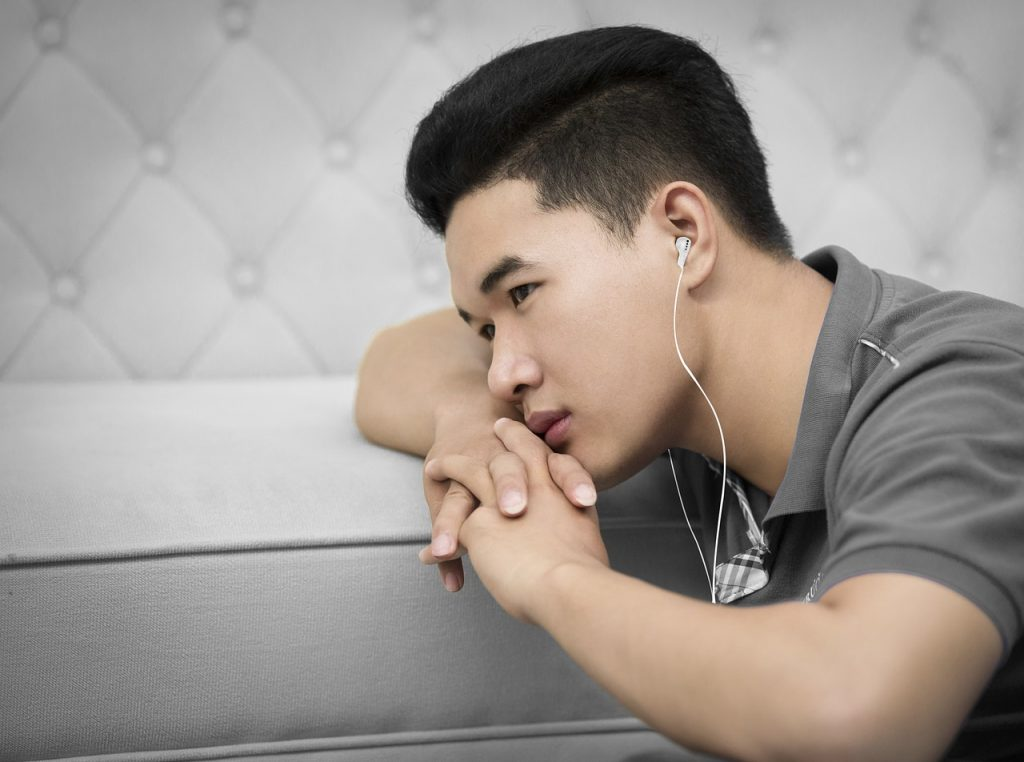 Why do we listen to sad music when we're sad?