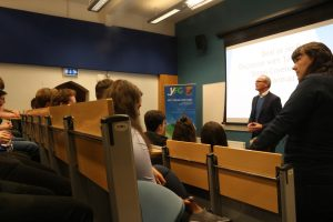 Connolly Youth Movement Disrupt Simon Coveney Event in UCC