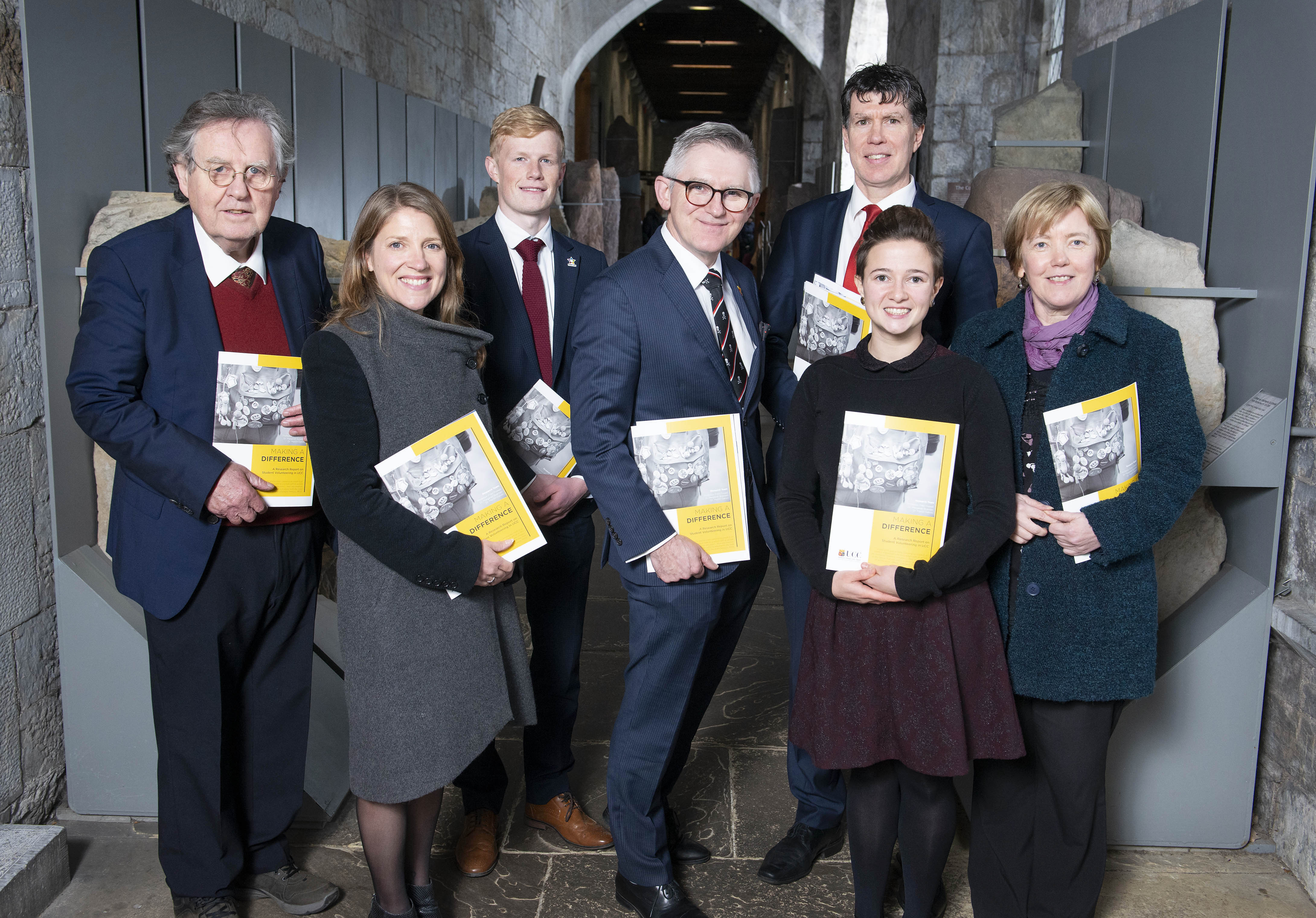 A Helping Hand: Research Report Launched on Student Volunteering in UCC