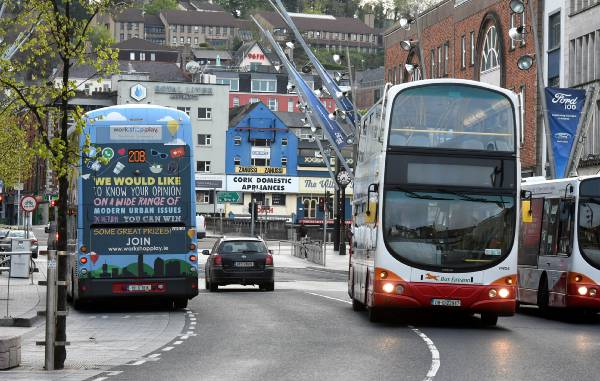 24 Hour Bus to Help Thousands of Cork Students