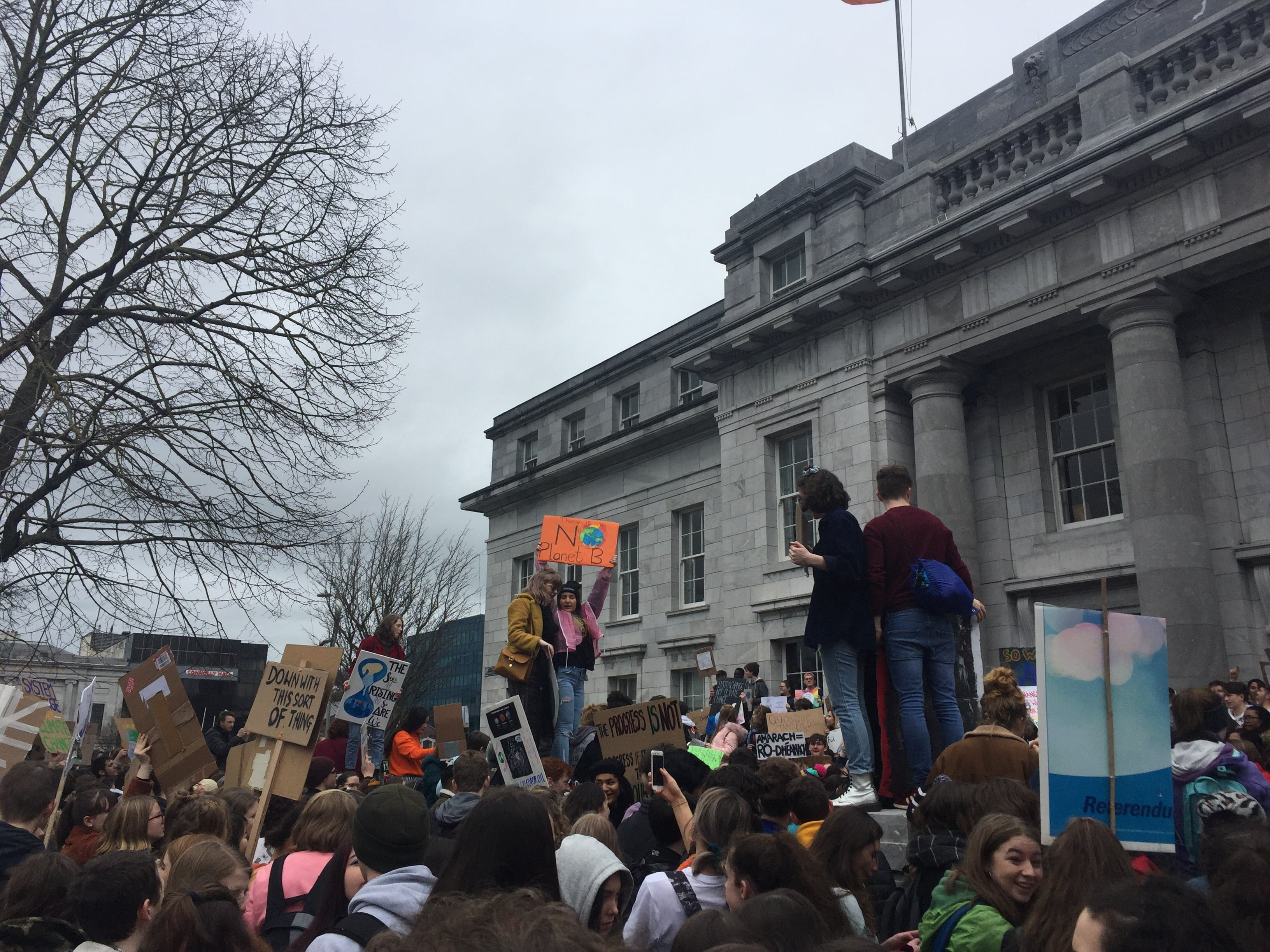 Cork Marches on Climate Change