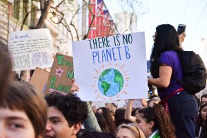UCC marches in solidarity with thousands of climate strikers