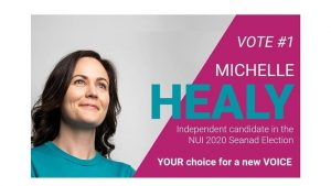 INTERVIEW WITH NUI 2020 SEANAD CANDITATE MICHELLE HEALY