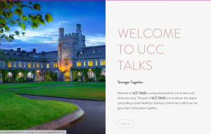 UCC TALKS Launched