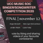UCC Singer/Songwriter Competition moves online