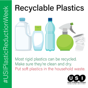 USI Plastic Reduction Week and UCC Green Campus aim to tackle environmental issues