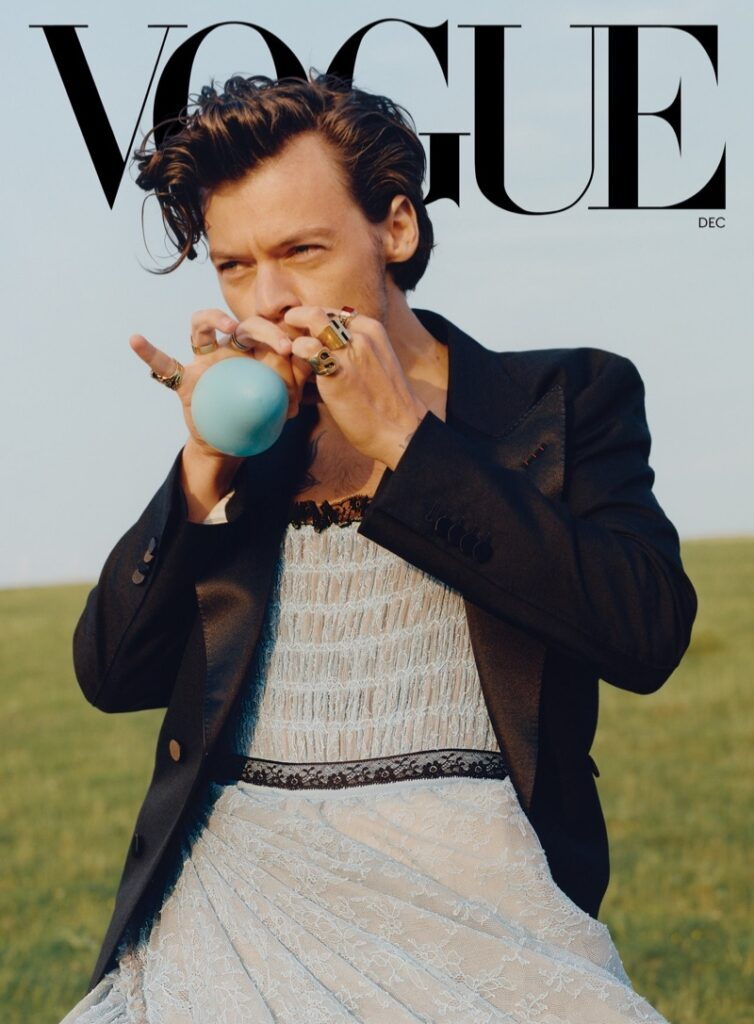 Why Harry Styles' Vogue cover is everything we needed to see in 2020