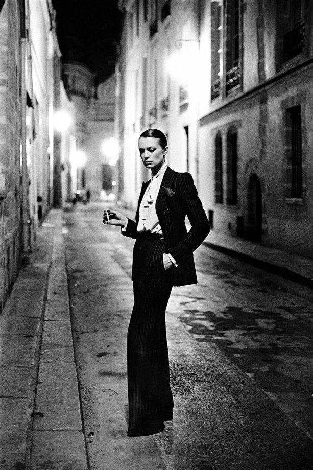 Yves Saint Laurent and 'Le Smoking'